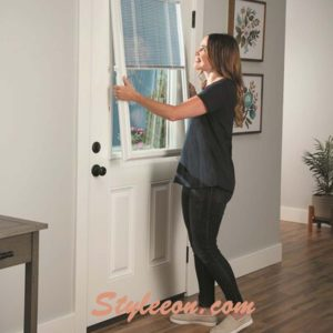 Effective Solutions For Glass Front Door Window Coverings