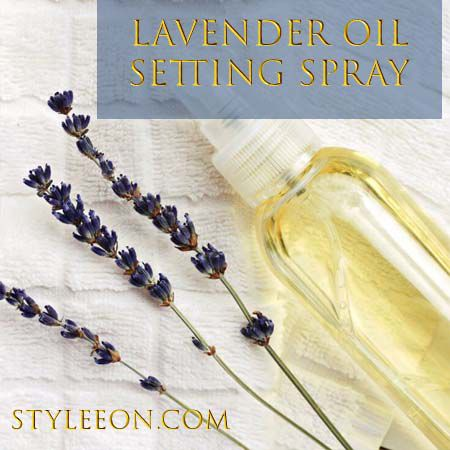 Lavender Oil Setting Spray