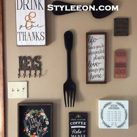 Kitchen Wall Decor Ideas - Kitchen Decor - Styleeon